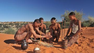 Kalahari, désert mythique