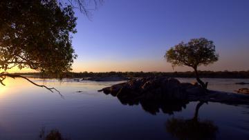 Sur les eaux de la rivière Kafue