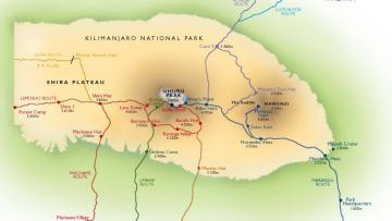 Kilimandjaro - La Route Umbwe